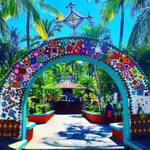 The colorful village of Sayulita